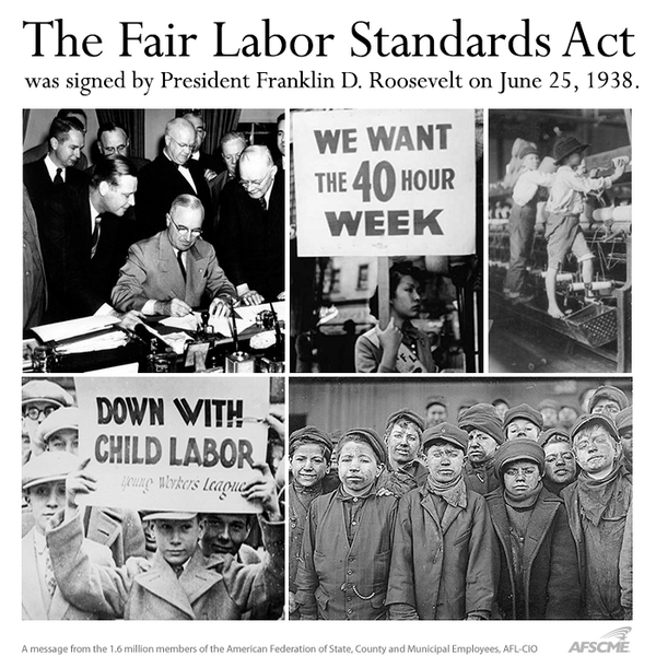 the fair labor standards act essay Fair labor standards act flsa is a federal wage and hour law that applies to most employees for work done for most employers, although there are certain.