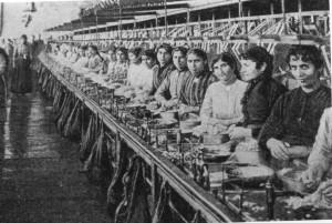 history women working