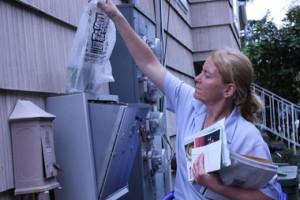 letter carrier female