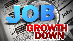 job growth down