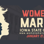 womens march iowa state cap 2017