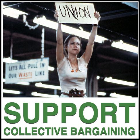 support collective bargaing